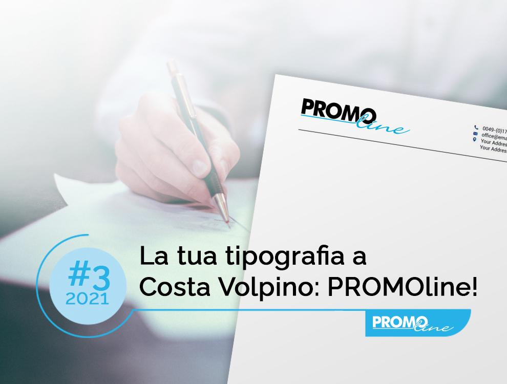 La tua tipografia a Costa Volpino: PROMOline!